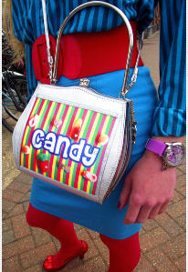 Helen Rochfort Candy Queen Handbag